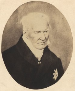 Хумболт, няколко години преди смъртта му.