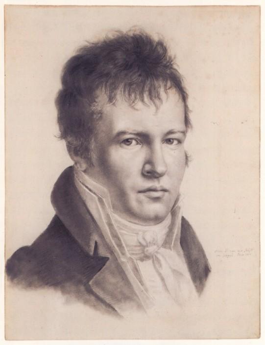 Александър фон Хумболт - автопортрет.